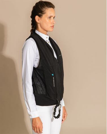Riding Airbag Helite Zip'in 2 compatible with Dada Sport equestrian riding vest